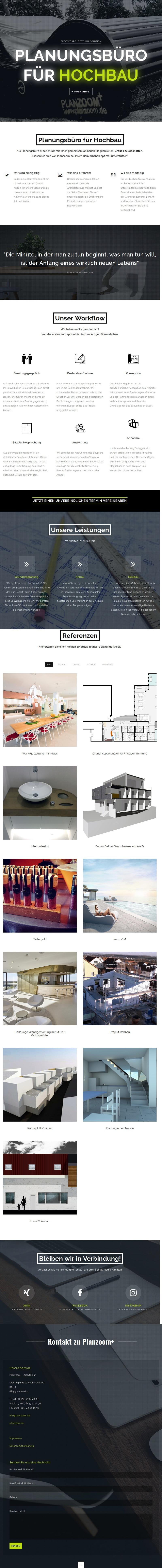 PLANZOOM+ creative architectural solution