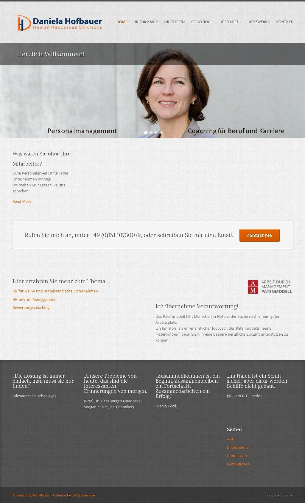 Daniela Hofbauer - Human Resources Solutions