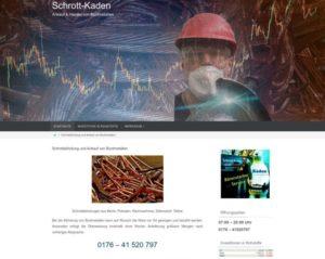 Schrott Kaden - Ankauf und Handel von Buntmetallen