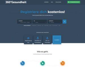 360GradGesundheit.de - Jobbörse für Berufe im Gesundheitswesen