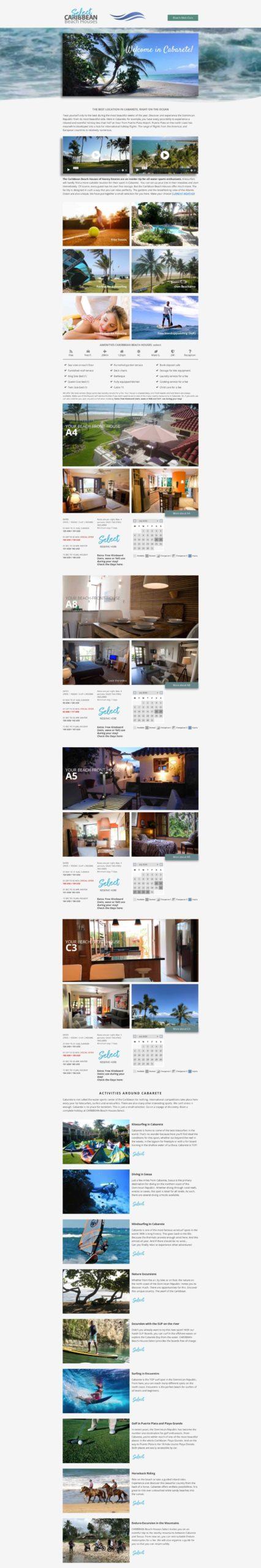 Cabarete Holiday - die beste Location in Cabarete