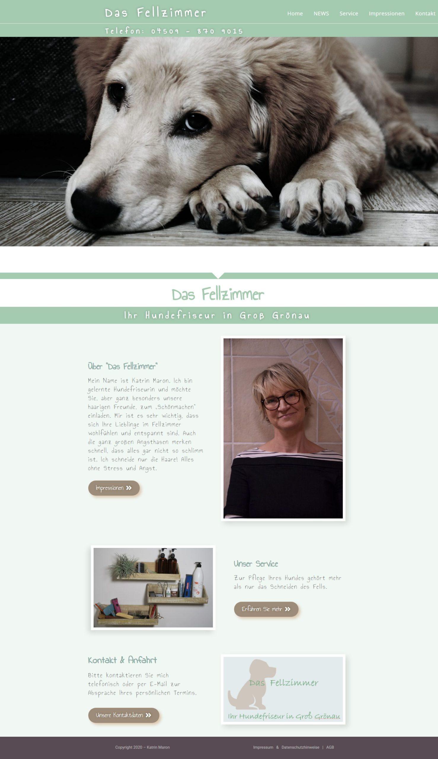 Das Fellzimmer - Ihr Hundefriseur in Groß Grönau