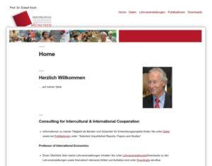 Prof. Dr. Eckart Koch - Hocvhschule für angewandte Wissenschaften München